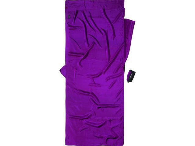 Cocoon TravelSheet Silke, violet